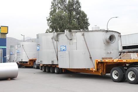 Estanques y Reactores API 650/ASTM A304/304L