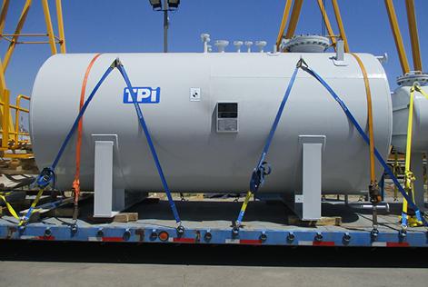 Estanques horizontales para diesel en acero carbono