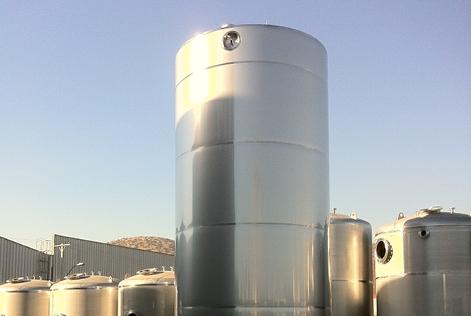 50,000L silo for milk concentrate