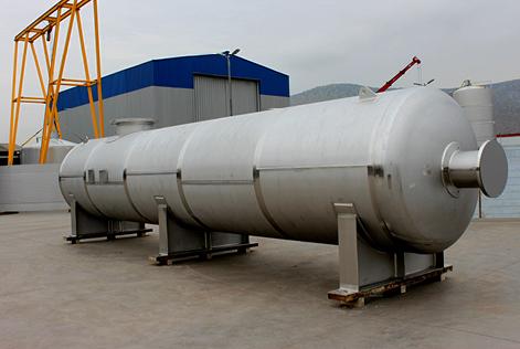 """316L ASME """"U"""" Damper tank"""
