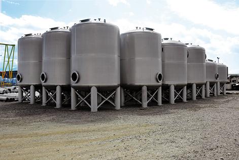 Filtro de arena a presión ASME VII Div.1