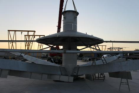 Rastras para espesadores 34 y 44 m /ASTM 316/316L