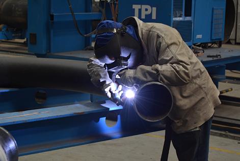 Fabricación de Spools en acero inoxidable y acero carbono recubierto en caucho